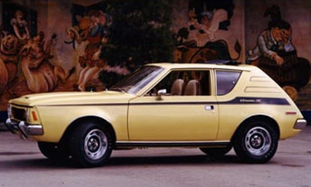1972 Yellow Blue Jean Gremlin