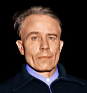 Ed Gein colorized by Tim Huck