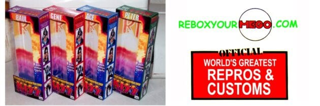 Custom Mego Boxes and Blister Cards